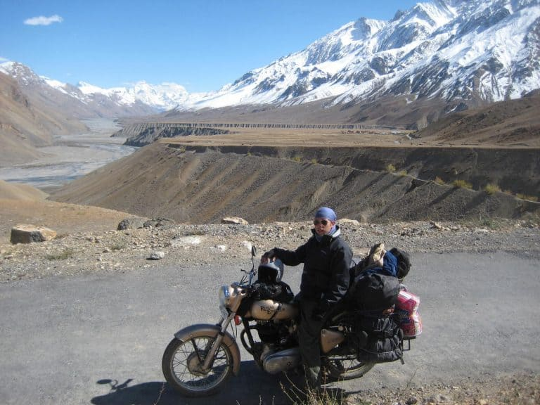 What It's Like To Ride A Motorcycle Through Northern India